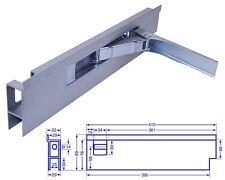 Einbau Riegelverschluss Bordwandverschluss mit Anschlag 400mm rechts