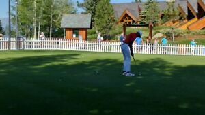 NIKE Dri Fit Tour Performance BRIGHT ORANGE STRIPE Polo Golf Shirt XL ❤️sj7m14