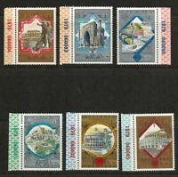 """USSR 1979 Olympiada 80 """"Tourism Around the Golden Ring"""" MNH  Series 6 stamps"""