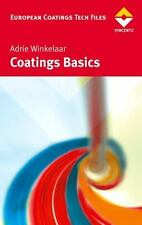 Coatings Basics: By Adrie Winkelaar
