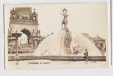 California Postcard Panama–Pacific International Exposition RPPC Fountain ENERGY
