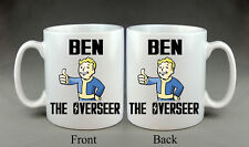Personnalisé Fallout intendant Mug Cadeau geek Playstation Xbox PIP Boy