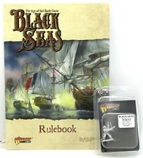 Black Seas 791010001 Rulebook (Book + Sea Wolf Mini) Age of Sail Game Main Rules