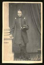 Civil War Cdv Handsome Young Union Officer