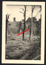 Débris-maisons-Amiens-somme - picardie-wehrmacht - 2.wk - France - 1940