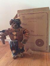 "Boyd's 13"" Crumpleton Scarecrow Fall Bear Elmer Haybeary #73114 Mwt #27"
