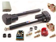 automatisch gesteuerts 2-flügeliges Tor mit  2 Kanal Steuerung Lampe 24V JAS2LAM