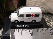 Oxford 1:148 N Gauge  Bedford J1 Lomas Ambulance British Army NBED006