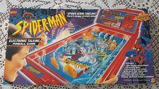 spiderman electronic talking pinball game 1996 toy biz