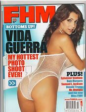 FHM Magazine Vida Guerra/with poster Diana Chiafair 2-07 no label