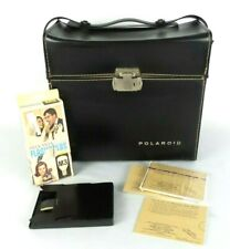 Vintage Polaroid Automatic 250 Land Camera Case ONLY Accessories & Flashbulbs