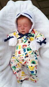 Realborn reborn baby Autumn Asleep with COA