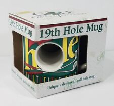 NIP Golf Gifts & Gallery 19th Hole collectible golfers funny gag gift mug cup