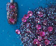 Glitter Mix Acrylic GEL Nail Art Bejewelled