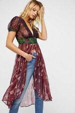 FREE PEOPLE DAISY FIELDS maxi top Floral combo Size Medium M NEW NWT