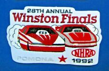 1992 WINSTON FINALS, POMONA, CA , 28th Annual Official National Event Patch
