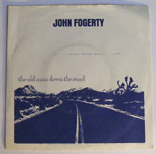 """JOHN FOGERTY The Old Man Down The Road Ex+ UK 1984 Rock P/S 7"""""""