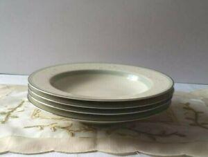 Lot of 4 Mikasa Mystic Rose Rim Soup Bowl L5524 Fine China - Japan