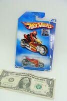 Hot Wheels 2009 Dream Garage Orange Canyon Carver Motorcycle - P2474