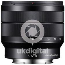 Sony E 10-18mm F4 OSS Lens (SEL1018)