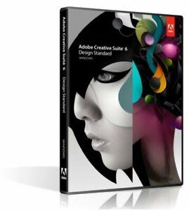 Adobe Creative Suite CS6 Design Standard Englisch
