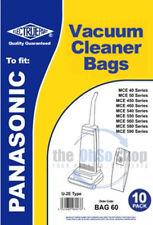 Pack de 10 Panasonic Bolsas para aspiradora u-2e TIPO U20E,u20ab,mce450,mce460
