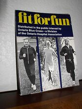 Fit for Fun : A Swedish Message by Berit Brattnas & KW Gullers (PB, 1974,SIGNED)