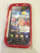 Funda de Silicona Teléfono Móvil Samsung Galaxy SIII Color Rojo Brillante i9300 Protección Nuevo
