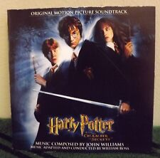 HARRY POTTER AND THE CHAMBER OF SECRETS SOUND TRACK CD