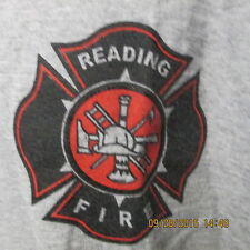 Reading Fire Fitness, Be Fit - Be Safe, Ash Gray, S/S, XXL, NEW