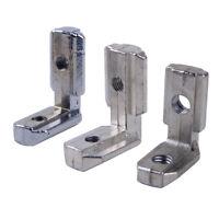10X Innenwinkel Winkelverbinder für 8mm 10mm T Slot Aluprofil Euro Eckeverbinder