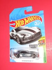 HOT WHEELS ASTON MARTIN ONE-77 HW EXOTICS ZAMAC SHIPS FREE