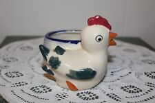 Vintage.Hand Painted.Very Cute.Chicken.Planter.Occu pied Japan