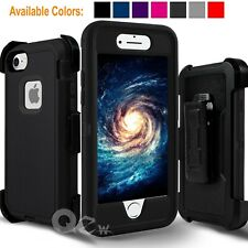 For iPhone 6 6s 7 8 Plus Shockproof Cover Case Belt Clip Fits Otterbox Defender