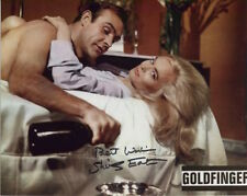 Shirley Eaton In Person Signed Photo - James Bond - Goldfinger - C169