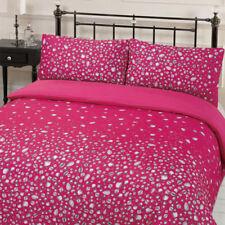 Parures et housses de couette rose traditionnels pour chambre