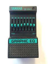 Yamaha GE-10MII Graphic Equalizer EQ Rare Vintage Guitar Effect Pedal MIJ Japan
