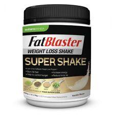 NATUROPATHICA FATBLASTER WEIGHT LOSS SHAKE SUPER SHAKE VANILLA BEAN 430G POWDER