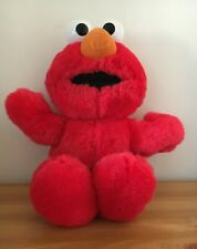 Talking Elmo Soft Plush Teddy Giggling Toy 16""