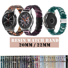 20/22mm Bands Quick Release Wrist Watch Band Strap Resin Bracelet Replacement