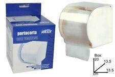 Porta Carta Supporto Rotolo Carta Igienica In Plastica Con Ventosa Bagno sus