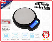 Portable Mini LCD Digital Weight Electronic Pocket Jewellery Scales Tray SCP25