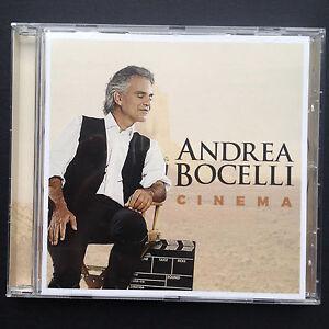 CINEMA CD Andrea Bocelli Operatic Film Soundtracks Zhivago Breakfast At Tiffanys