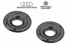 VW Passat Audi A4 A6 S4 RS6 Set Of 2 Front Lower Spring Seat Genuine 8D0412066F