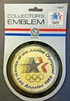 Vintage Rare Customs Games of the XXIIIrd Olympiad Los Angeles 1984 Emblem