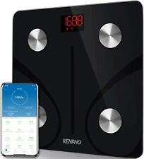 RENPHO Bluetooth Body Fat Scale Smart BMI Scale Digital - Black