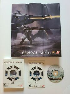 Civilization: Beyond Earth Game (PC, 2014) 100% Complete Poster Manual