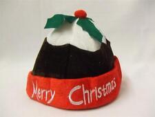 Christmas pudding hat ~ enfant taille unique ~ fete ~ prune ~ aux figues