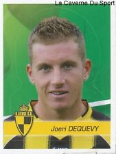 202 JOERI DEQUEVY BELGIQUE SK.LIERSE STICKER FOOTBALL 2012 PANINI