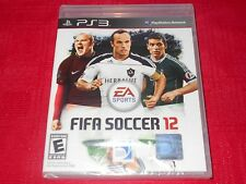 FIFA SOCCER 12 PS3 FACTORY SEALED FAST FREE SHIPPING!!! C@@L!!! L@@K N@W!!!